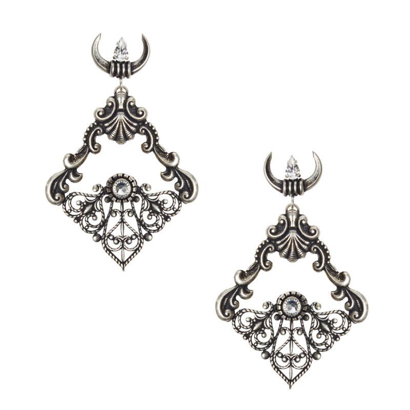 Tullia silver crystal