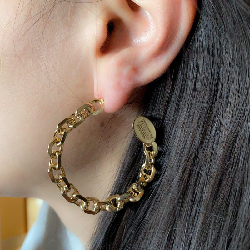 HOOPS H GOLD