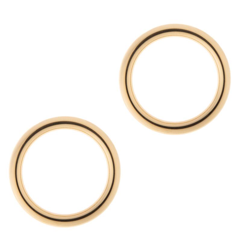 HOOPS CIRCLE GOLD