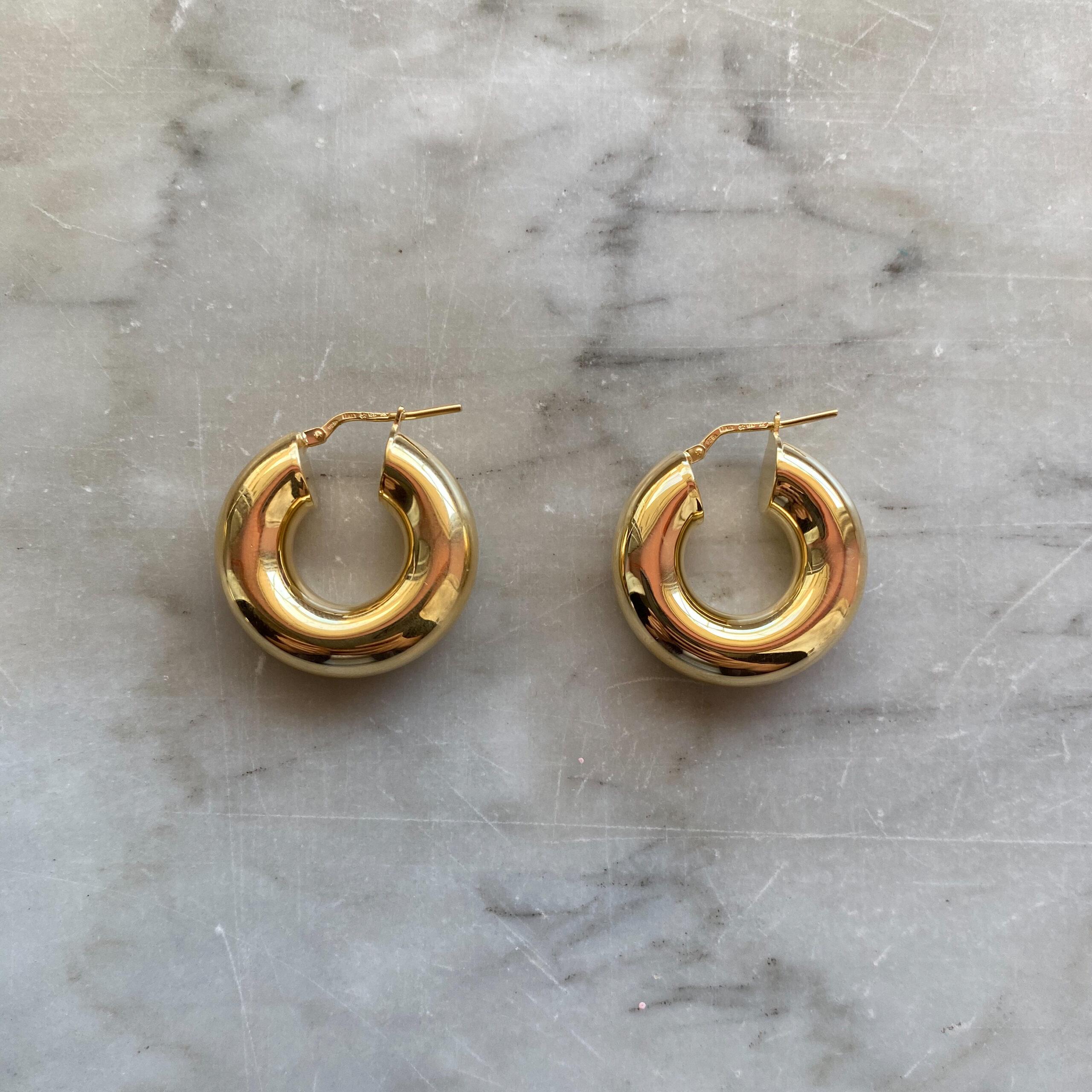 HOOPS TUBULAR GOLD 20