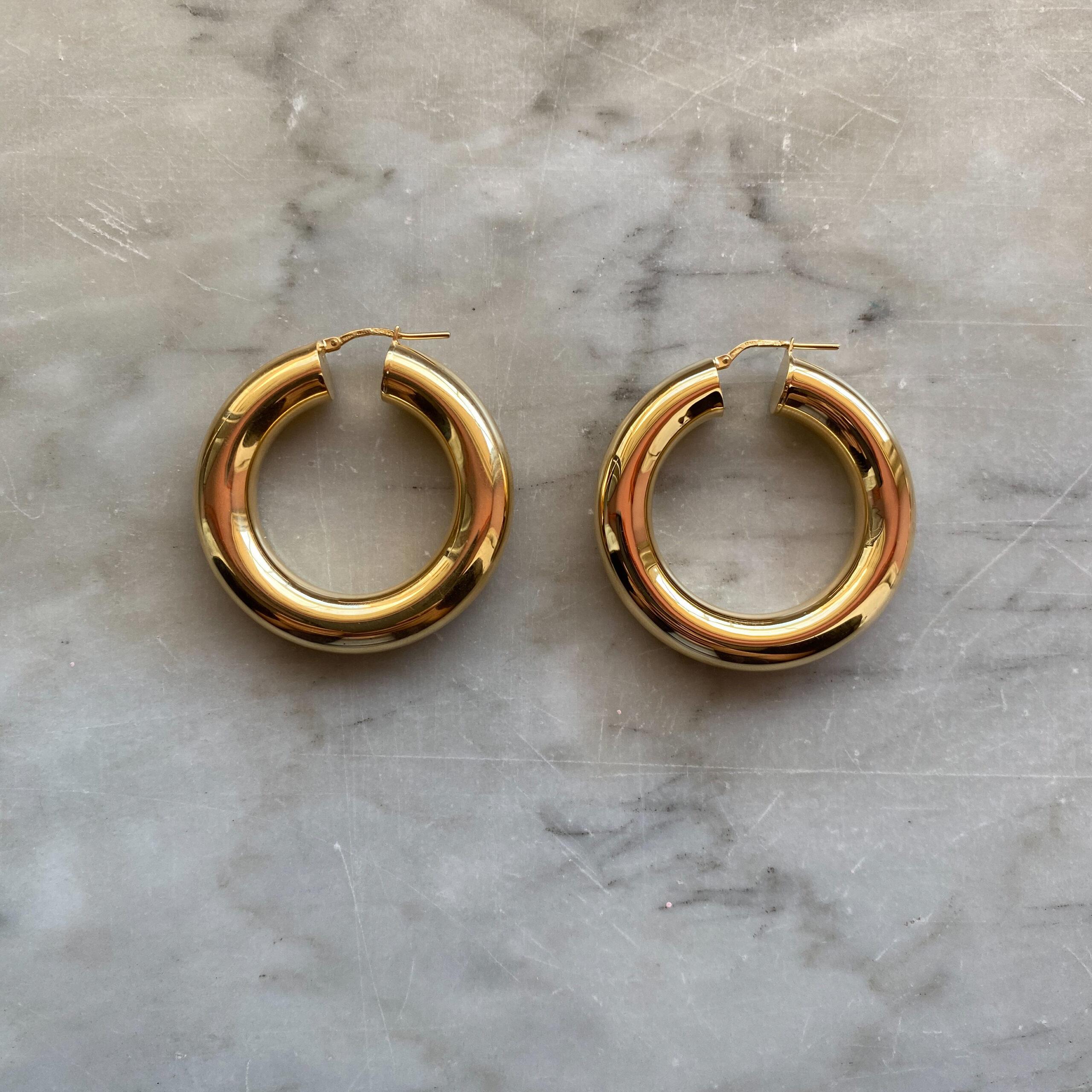 HOOPS TUBULAR GOLD 30