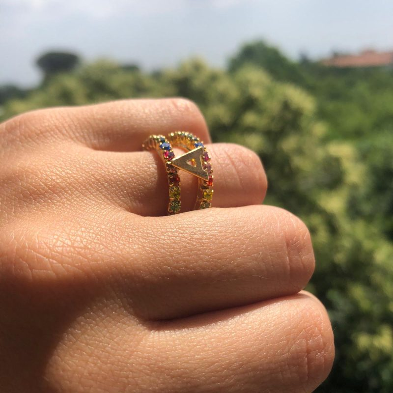 DOULE RAINBOW RING