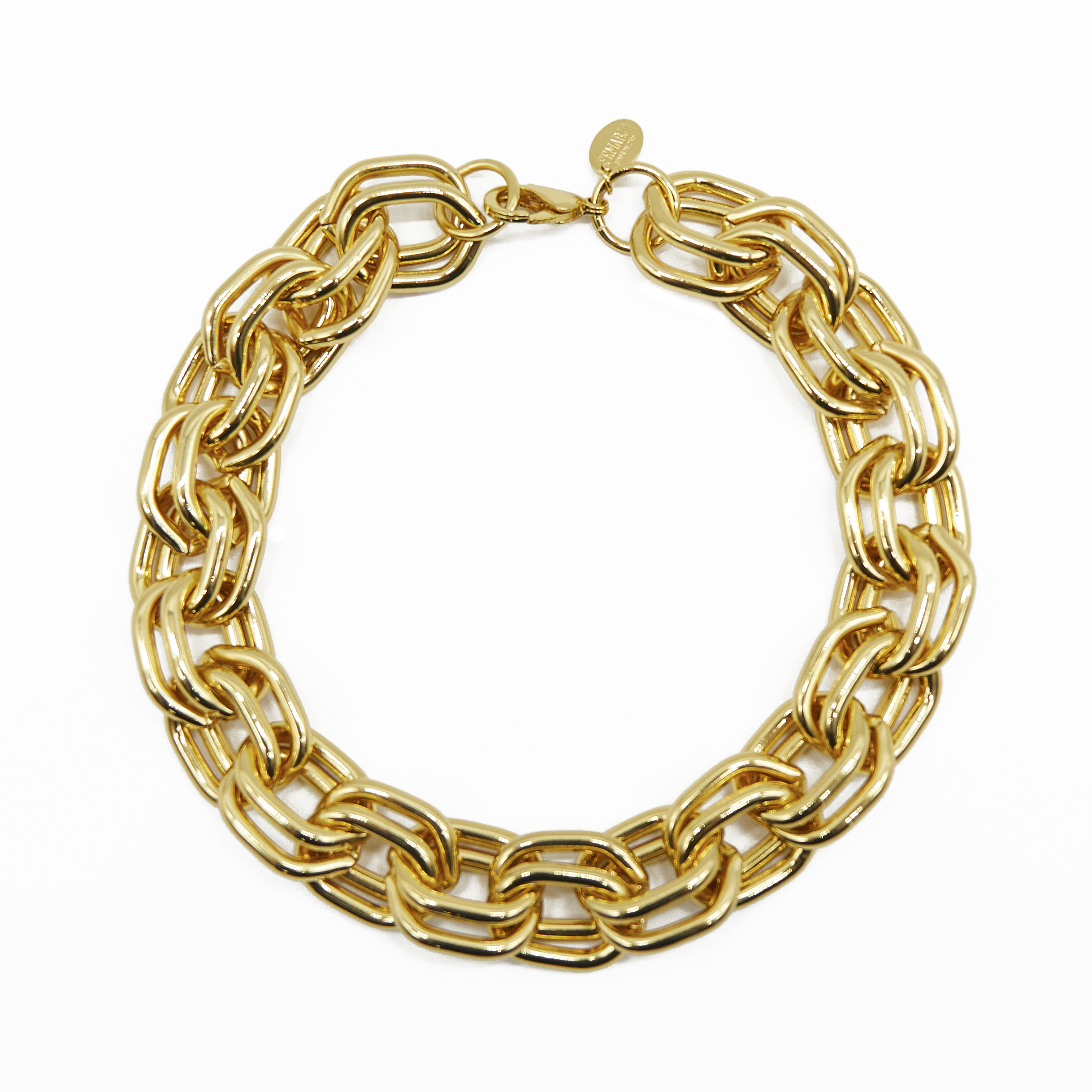 DUO GOLD NECKLACE